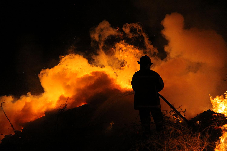 Incendio-Casa Candelaria