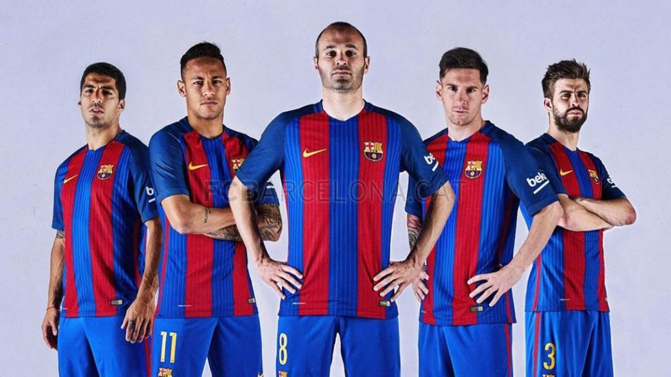 Barcelona-Camiseta Nueva