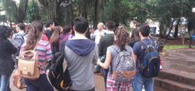 Clases en la 9 de Julio-Universitarios