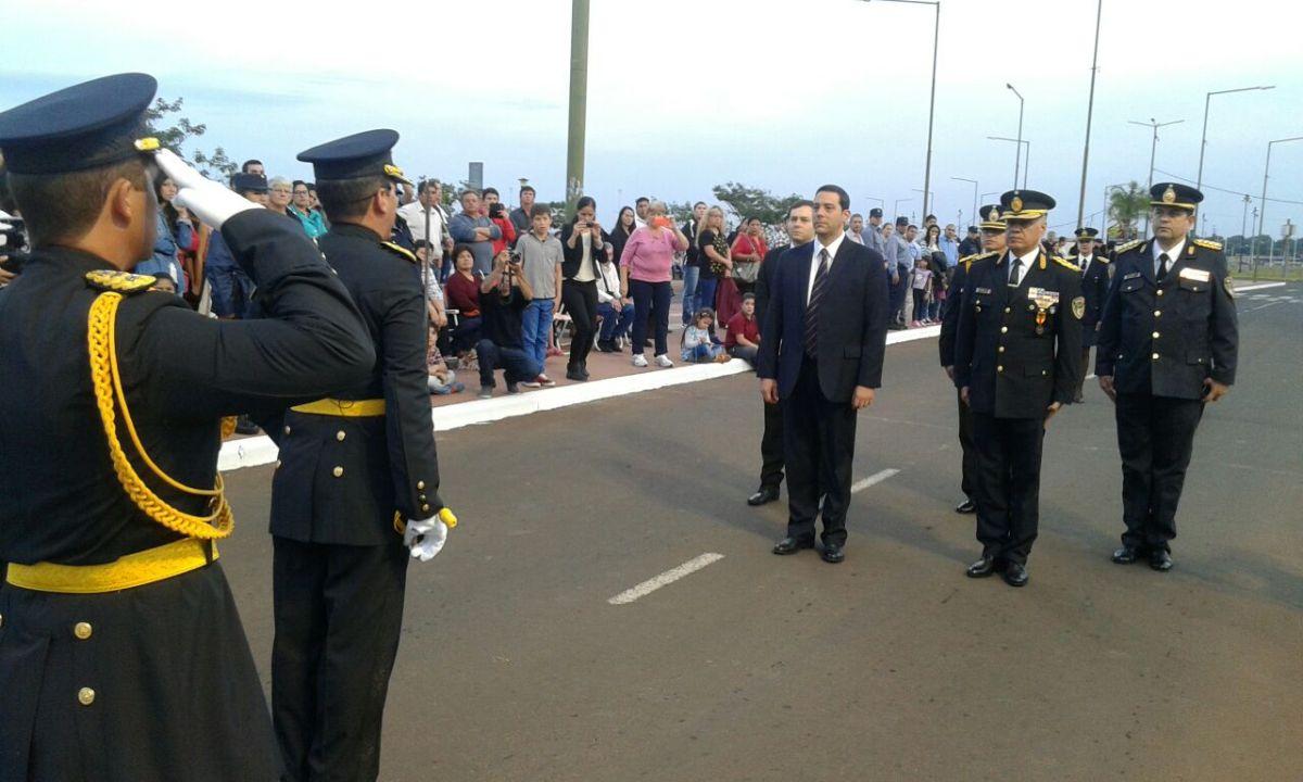 Desfile Policia-Aniversario