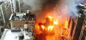 Incendio-Catedral Nueva York