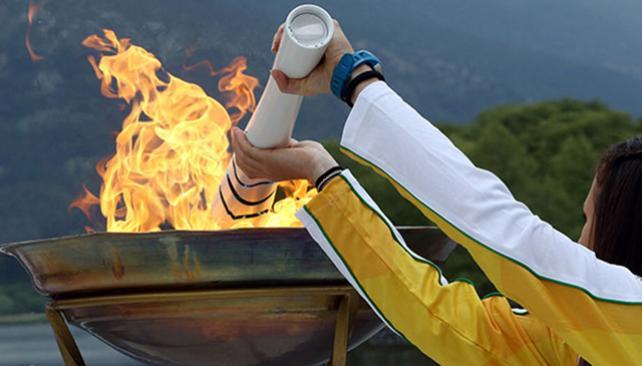 Llama Olimpica-Brasil