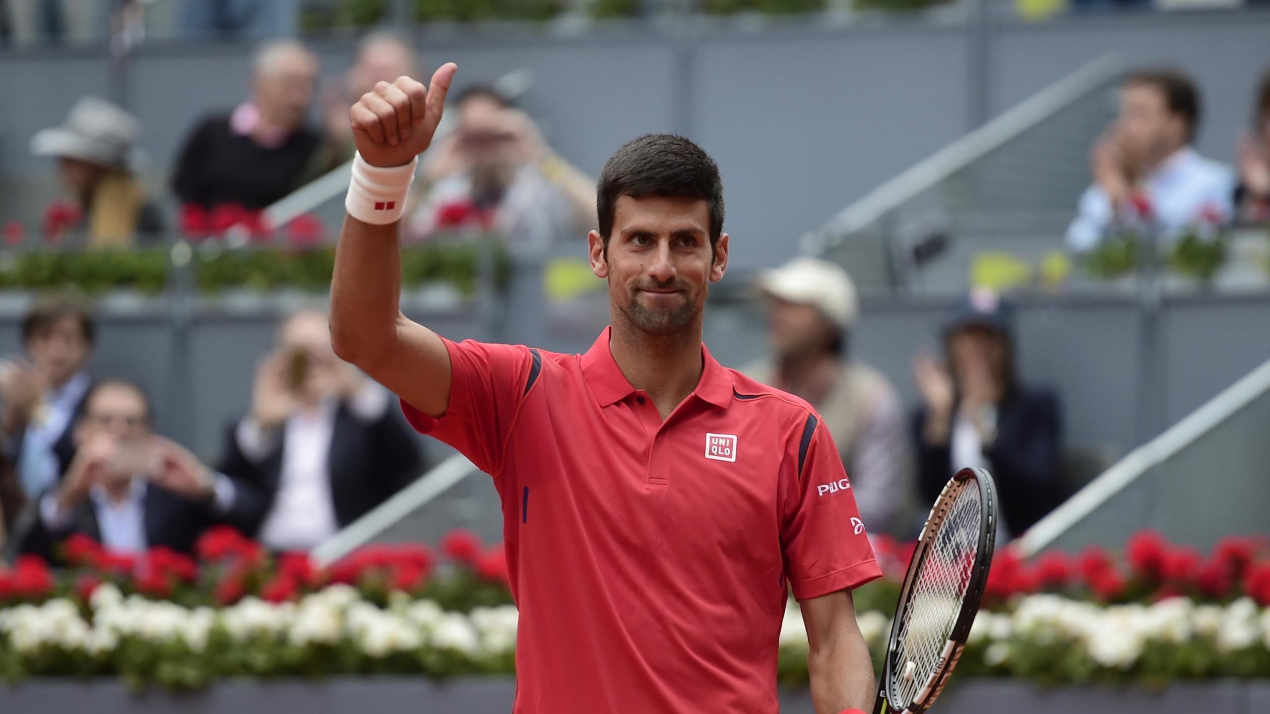 Novack Djokovic-Madrid
