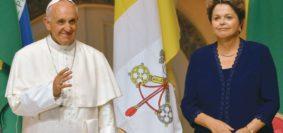 Papa Francisco-Dilma Rousseff
