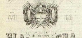 Partitura del HimnoNacional Argentino