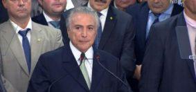 Temer Presidente de Brasil
