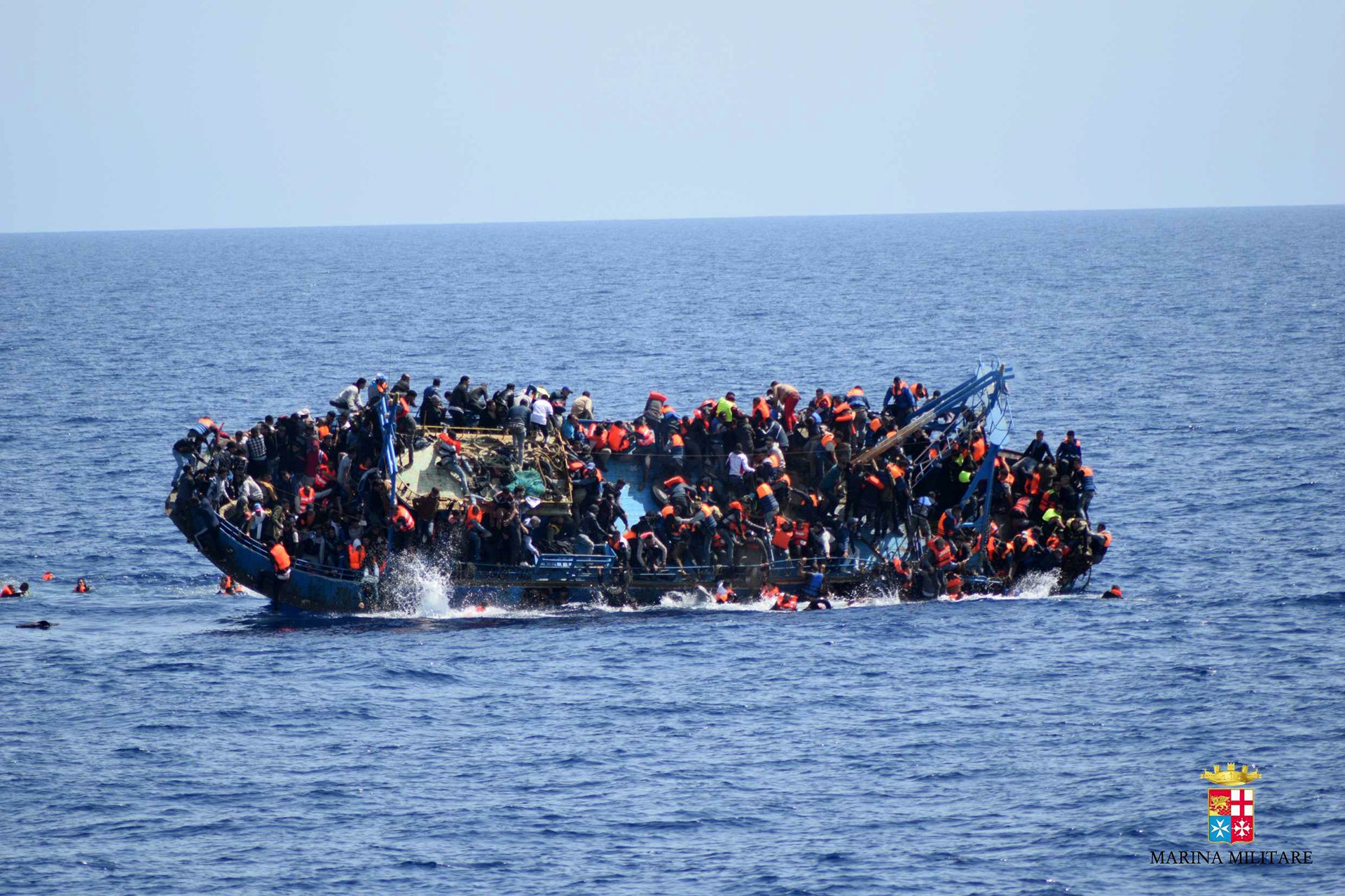 enbarcacion de refugiados