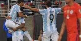 Copa America-Argentina-Festejo