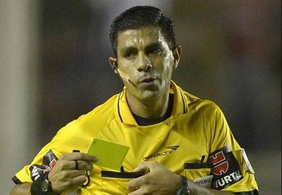 Copa America.Arbitro Caceres-Argentina