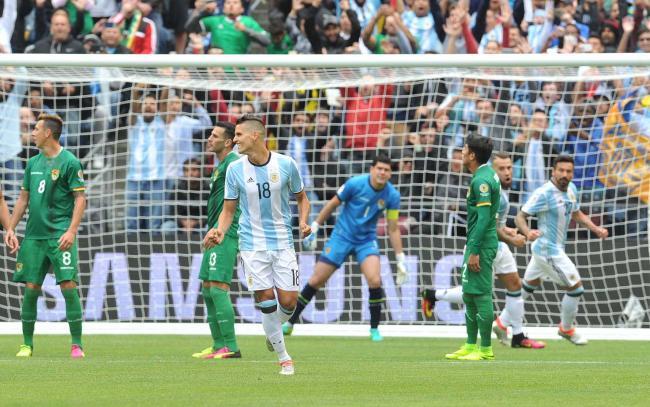 Copa America.Argentina Festejo