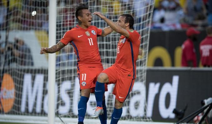 Copa America.Chile Festejo