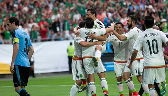 Copa America.Mexico-Uruguay