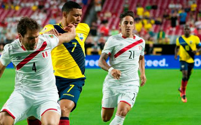Copa America.Peru-Ecuador
