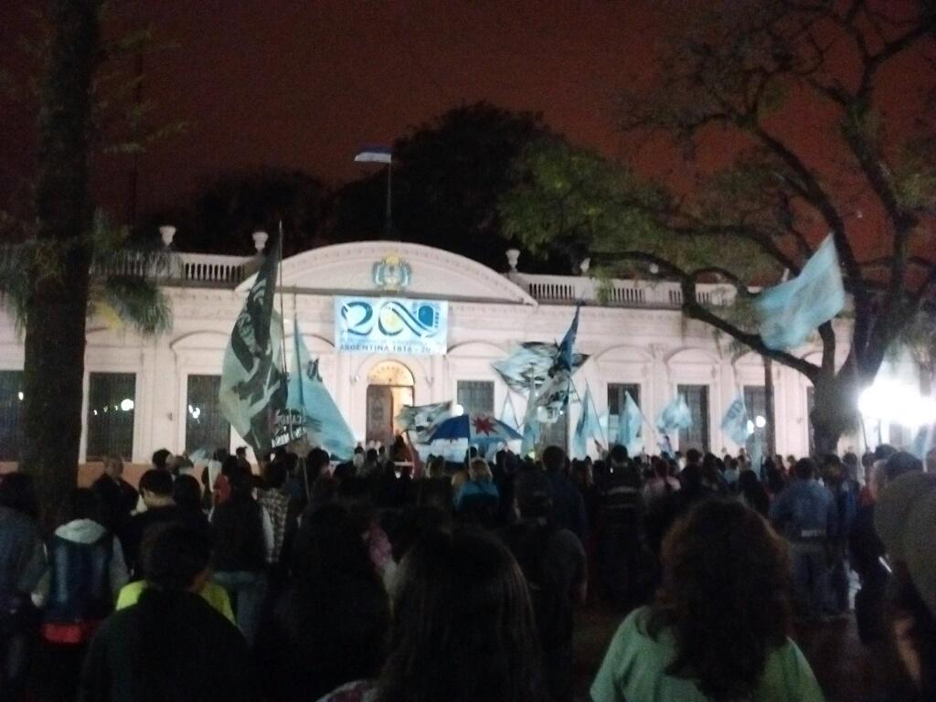 Tarifazo-Protesta Posadas