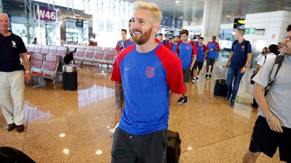 Messi-Pretemporada Barcelona