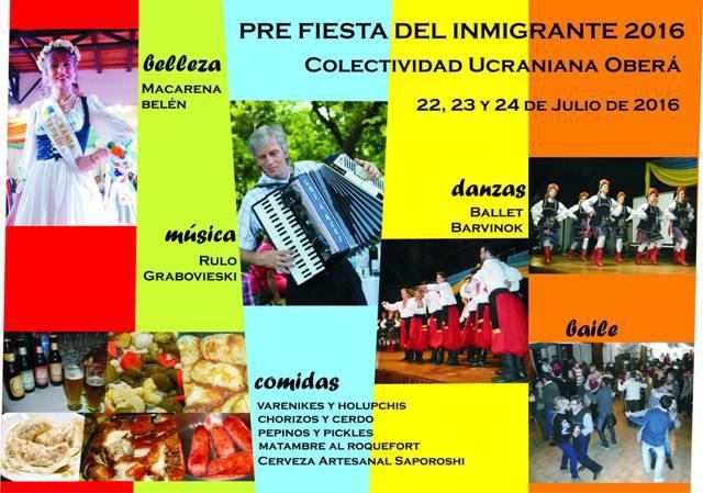 Pre Fiesta del Inmigrante-Obera