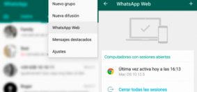 WhatsApp Web-Estados