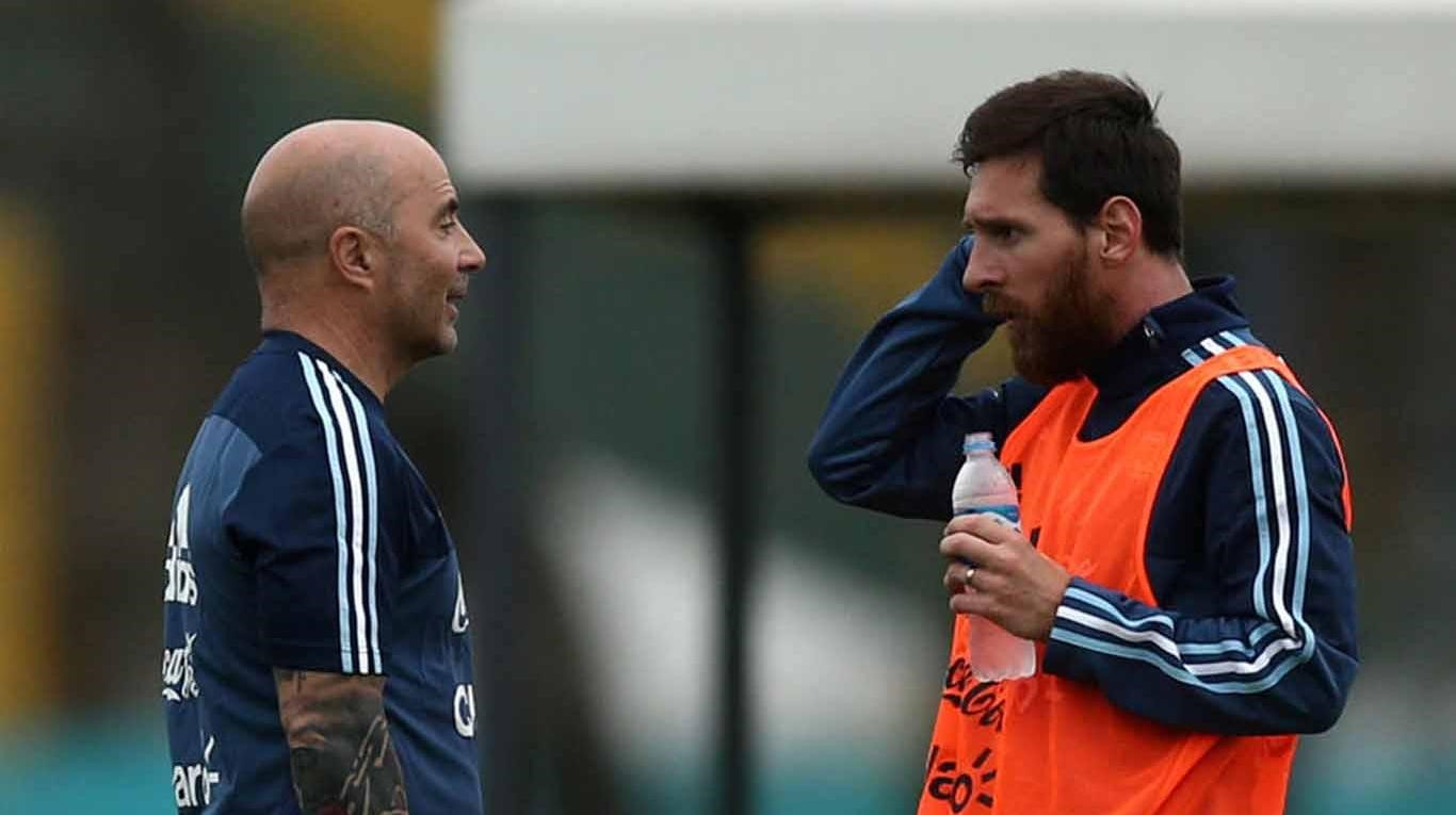 Messi-Sampaoli-Argentina