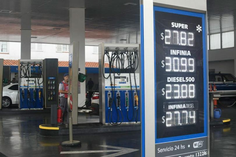 combustibles precios