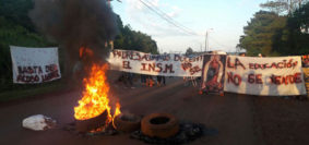 conflicto escuela Piray