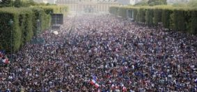 Francia-festejos Mundial