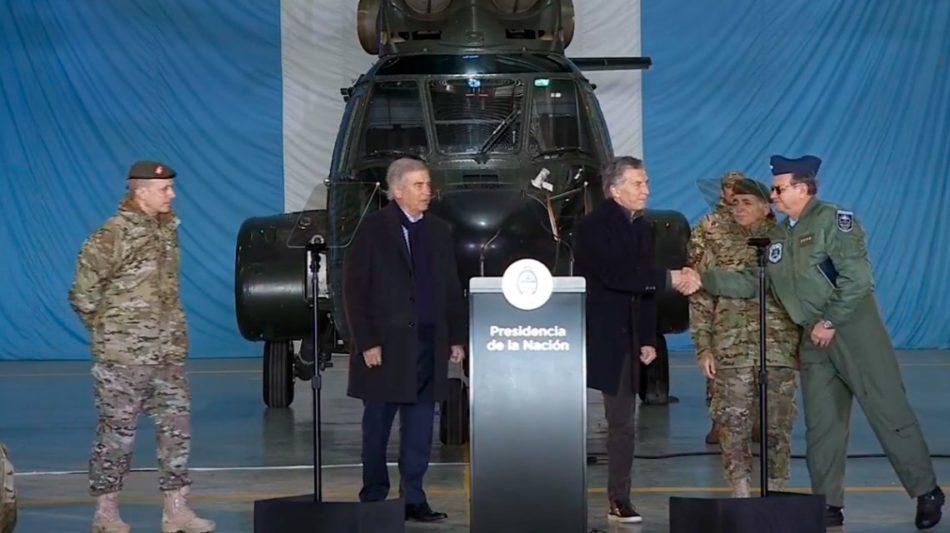 Macri-Fuerzas Armadas