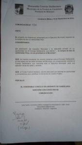 Proyecto-Candelaria Concejo