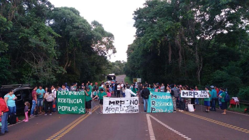 Iguazu-corte ruta