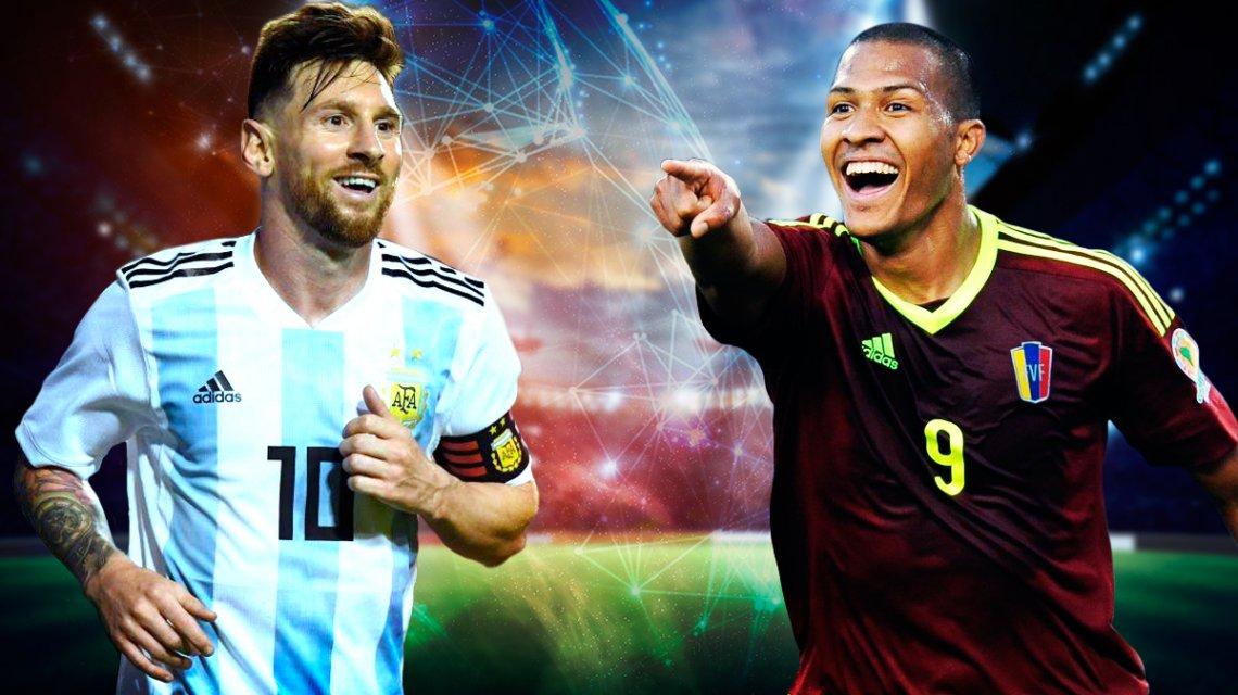 Argentina-Venezuela Eliminatorias