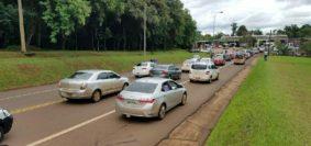 protesta iguazu taxis