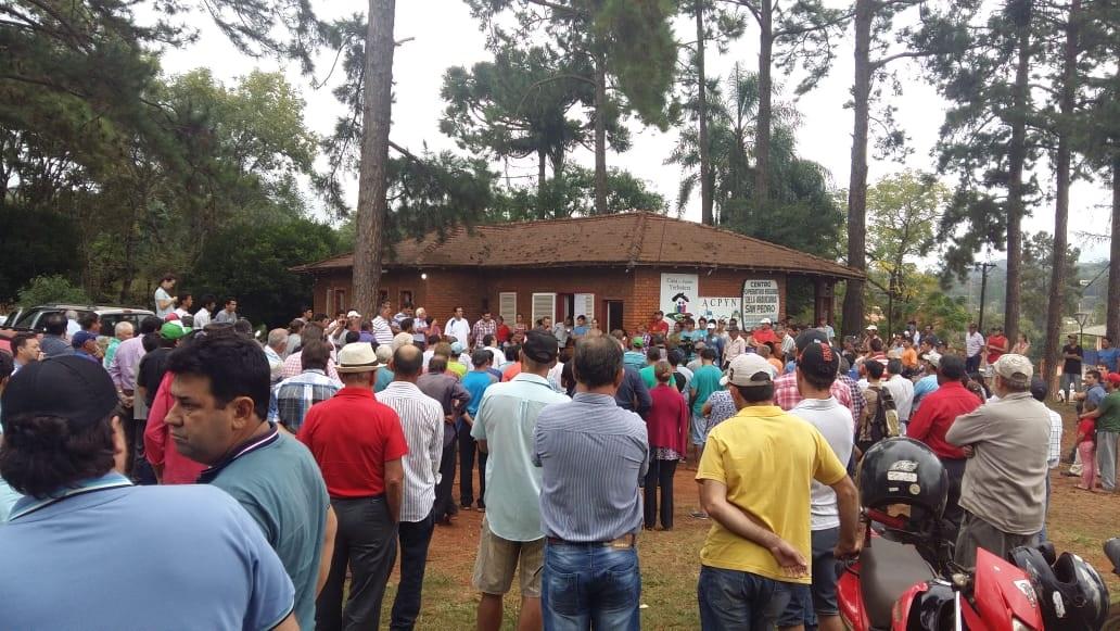 yerbateros-asamblea San Pedro