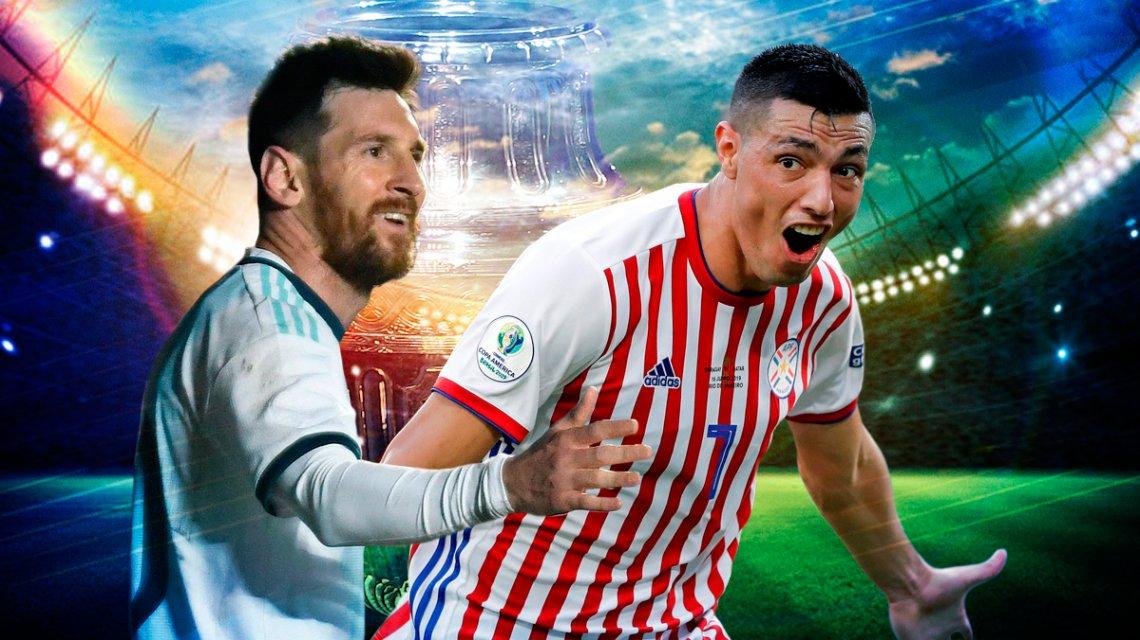 Argentina-Paraguay-Copa America