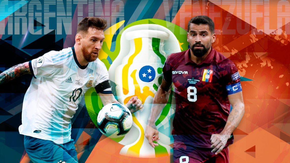 Copa America-Argentina-Venezuela