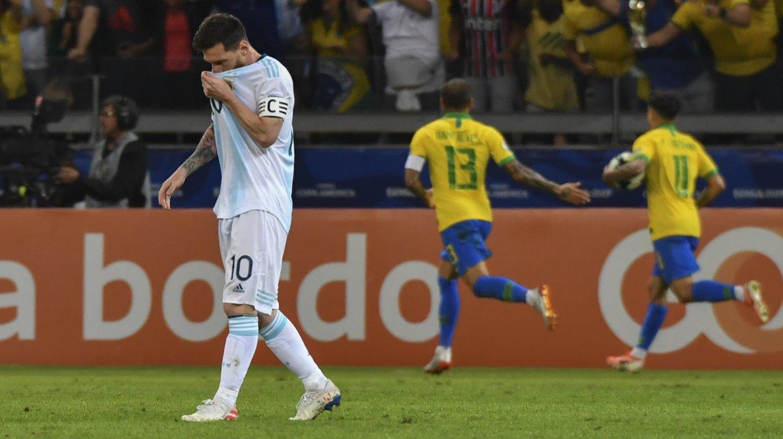 Messi-Brasil