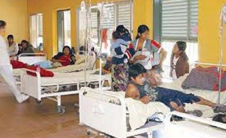 Hospital Indígena Salas de Pacientes