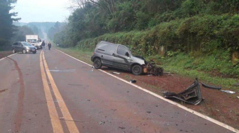 accidente Colonia 3 de Mayo