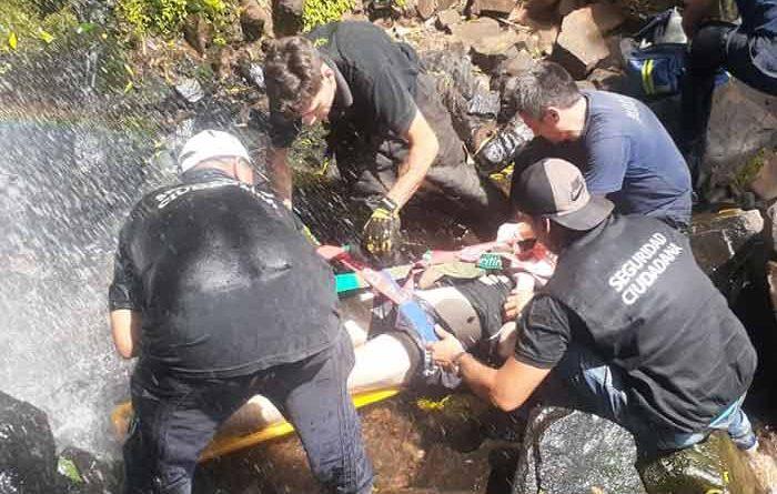 rescate Salto Mariposa