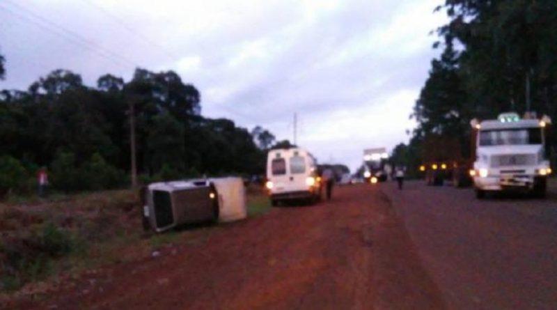 accidente ruta 17