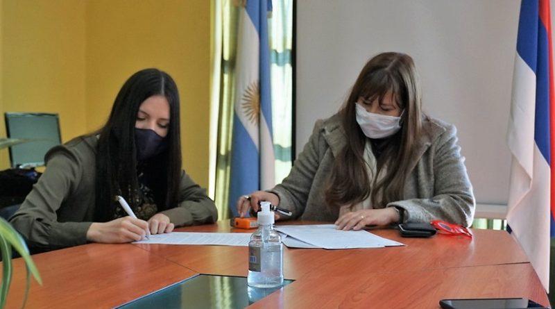 Firma de convenio entre el Ministerio de trabajo y el Sipted