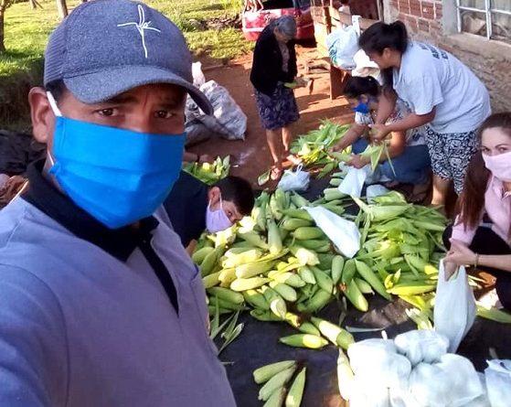 Produciendo alimentos sanos en las chacras