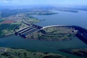 Represa de Itaipú Brasil-Paraguay
