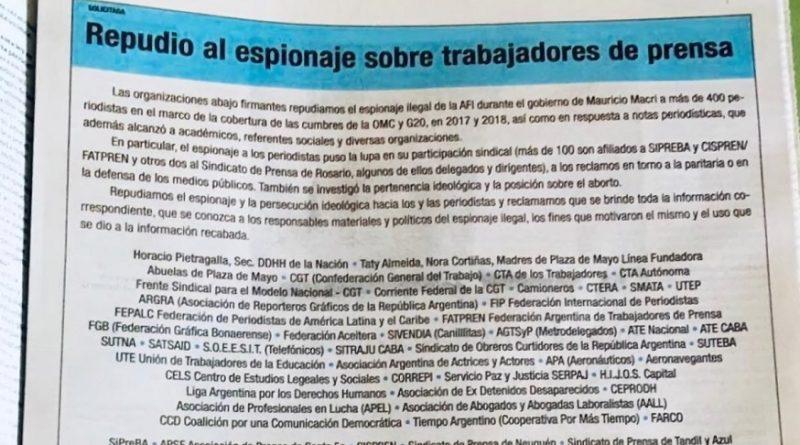 Solicitada publicadas en Diarios