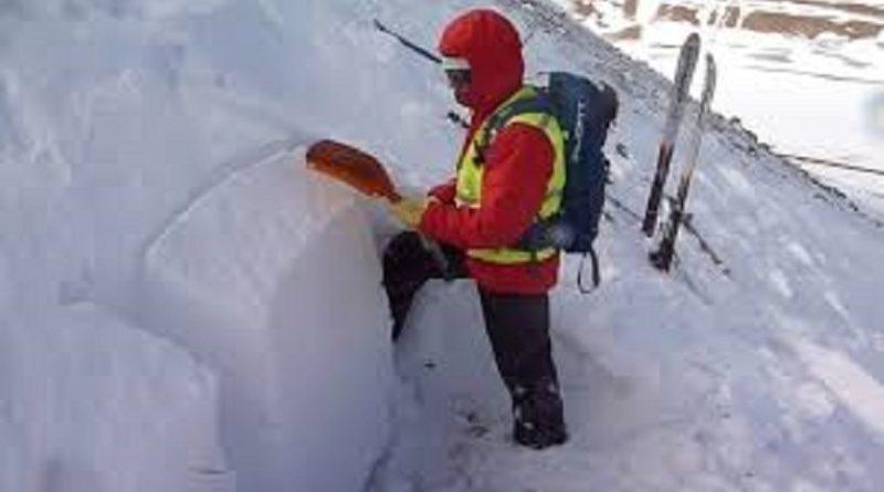 Trabajadores de temporada de turismo en invierno