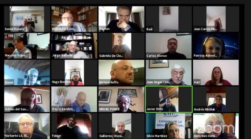 Acuerdo social Pos-pandemia videoconferencia
