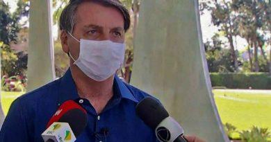 """Bolsonaro: """"Volveremos pronto si Dios quiere"""""""