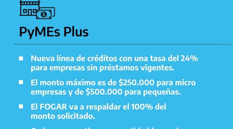 Pyme Plus - Nueva linea de creditos