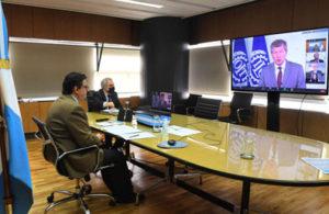 Videoconferencia de la Cumbre mundial de la OIT
