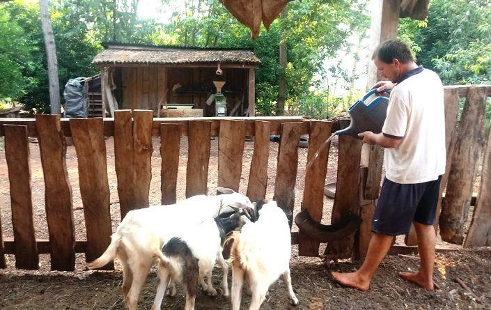 Familias de productores del Paraje 3 Leones
