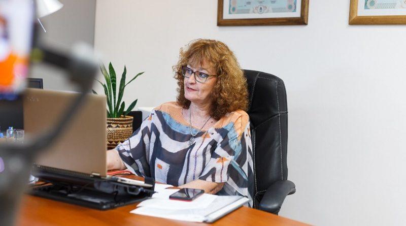 Diputada provincial Anita Minder (UCR)