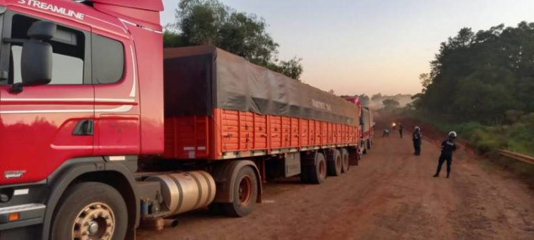 camion soja